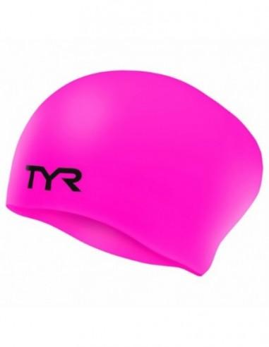 Bonnet Entraînement - Femme - SILCON CAP CHEVEUX LONGS - TYR - MySwim