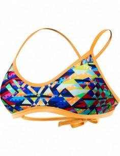 Maillot de bain Femme - MOSAIC CROSSCUT TIEBACK TOP - TYR - MySwim